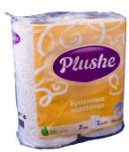 Полотенца бумажные 2-х слойные PLUSHE Стандарт (2шт*12 уп) (шт.)